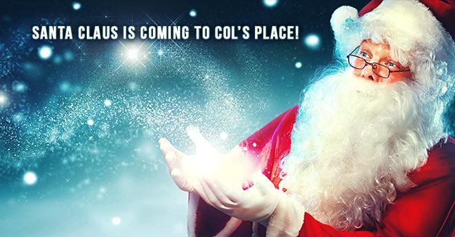 Cols Place santa claus 2016